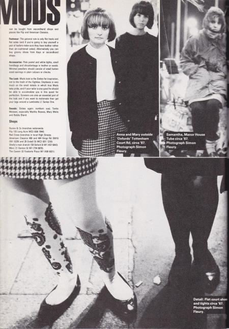 1980s Mods i-D Style Bible Mod Girls