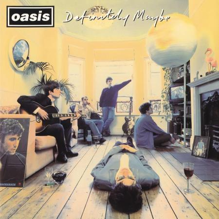 Oasis - Definitely Maybe (Japan) - Front