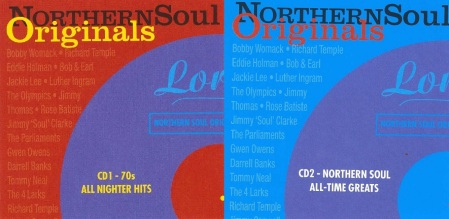 Northern Soul Originals CD 1 Front Cover
